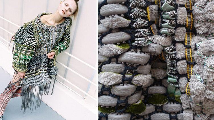Création de Quoi Alexander et détail de la robe  (DR)