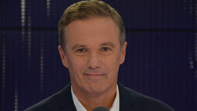 Nicolas Dupont-Aignan, député de l'Essonne, président de Debout la France. (RADIO FRANCE / JEAN-CHRISTOPHE BOURDILLAT)