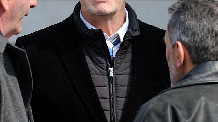 Eric Champ, l'ancien 3e ligne international de Toulon (JEAN PIERRE CLATOT / AFP)