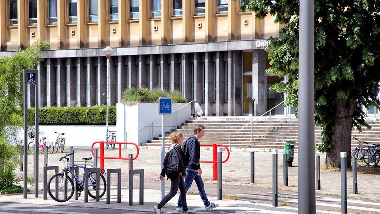 L'université de Lorraine à Metz. (ANTHONY PICORE / MAXPPP)