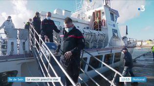 La vaccination continue de s'étendre, même dans les territoires les moins accessibles comme l'Île de Sein dans le Finistère, où une opération vaccination a eu lieu les jeudi 18 février et vendredi 19 février. (France 3)
