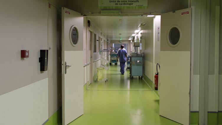 Le couloir soins intensifs et cardiologie du CHU Gabriel Montpied à Clermont-Ferrand. (Illustration). (GÉRALDINE MARCON / FRANCE-BLEU PAYS D'AUVERGNE)