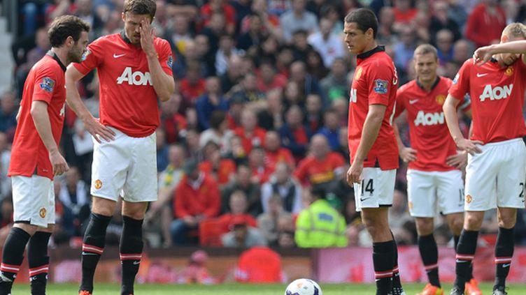 Les derniers espoirs des Red Devils se sont envolés à Old Trafford (ANDREW YATES / AFP)