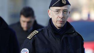 Le préfet de police de Paris, Didier Lallement, à la gare d'Austerlitz, le 1er avril 2020. (THOMAS SAMSON / AFP)