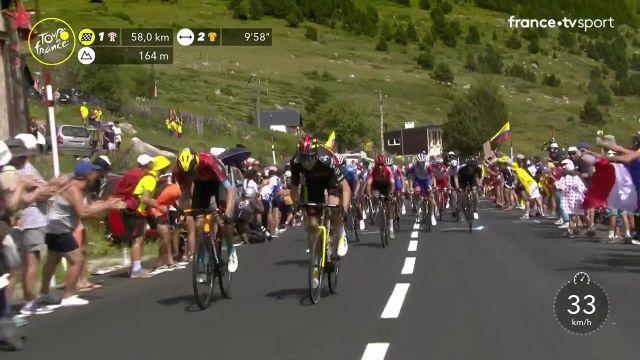 Le Belge passe en tête devant Wouter Poels et Michael Woods et se replace dans la course pour le maillot à pois.