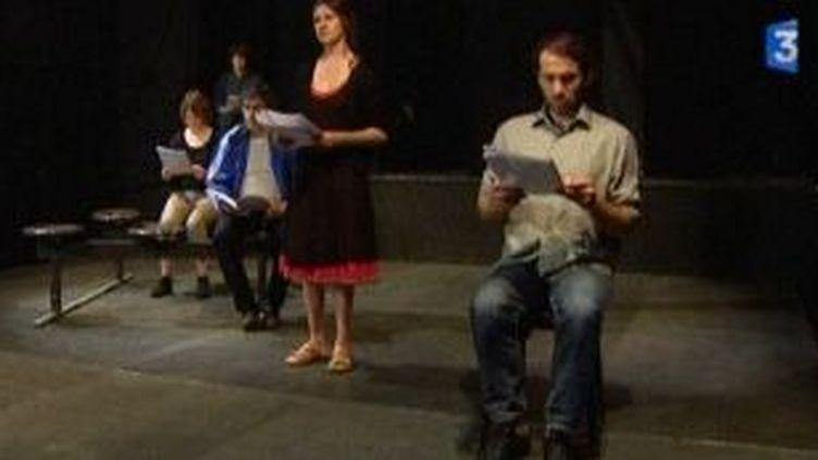 Passager sans train : Un SDF au théâtre  (Culturebox)