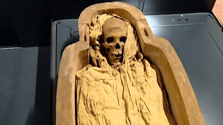 Les deux momies Antique ont retrouvé leur maison d'accueil au musée Anne de Beaujeu de Moulins  (France 3 / Culturebox)