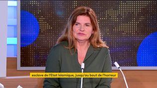 Sara Daniel (FRANCEINFO)