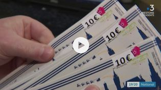 Consommation : davantage de chèques-cadeaux à Noël ? (Capture d'écran/France 3)