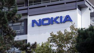 Le campus Nokia, près de Paris (ETIENNE LAURENT / EPA)