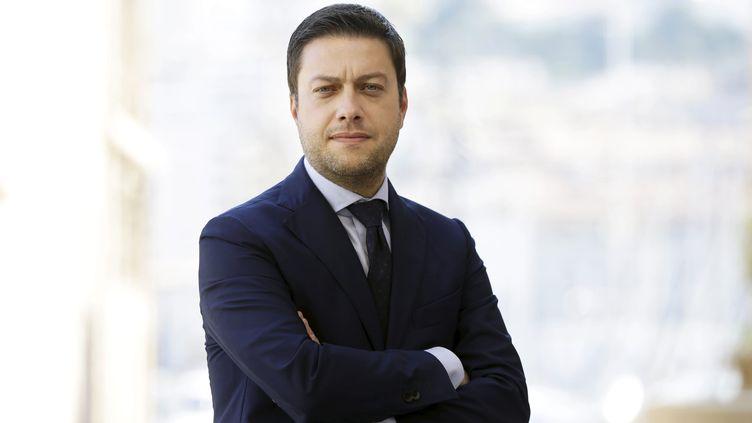 Benoît Payan, élu maire du 2e secteur de Marseille. (VAL?RIE VREL / MAXPPP)