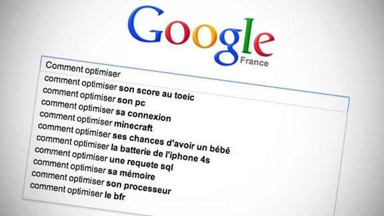 Le moteur de recherche Google. (FRANCETV INFO)