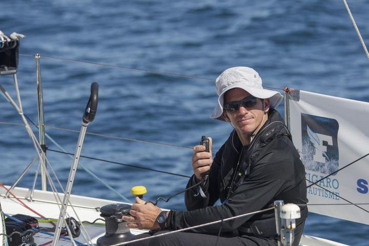 Xavier Macaire, un marin tranquille tout en maîtrise