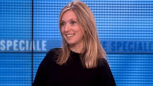 """Léa Drucker présente """"Un amour qui ne finit pas"""" sur le plateau de France 3  (France3/Culturebox)"""