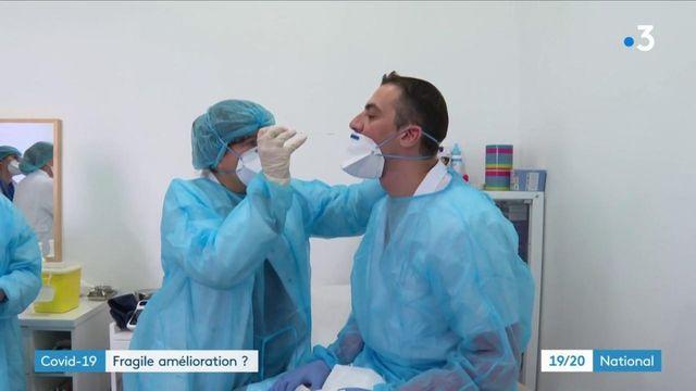 Covid-19 : une amélioration fragile de l'épidémie ?