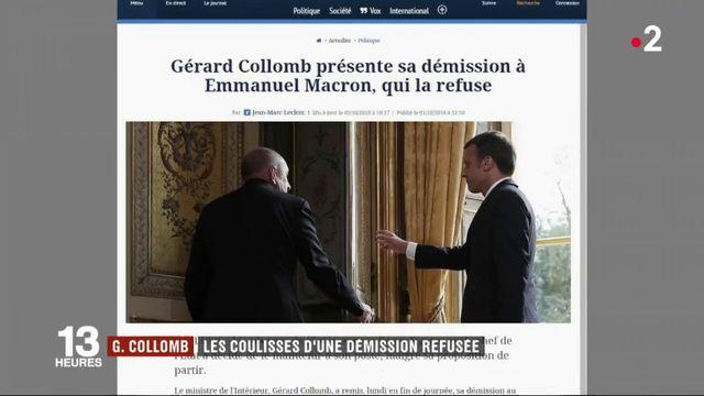 Gérard Collomb : les coulisses de sa démission refusée