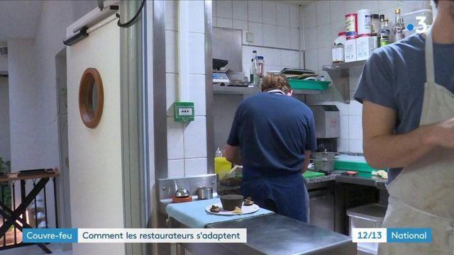 Coronavirus : les restaurateurs s'organisent face au couvre-feu