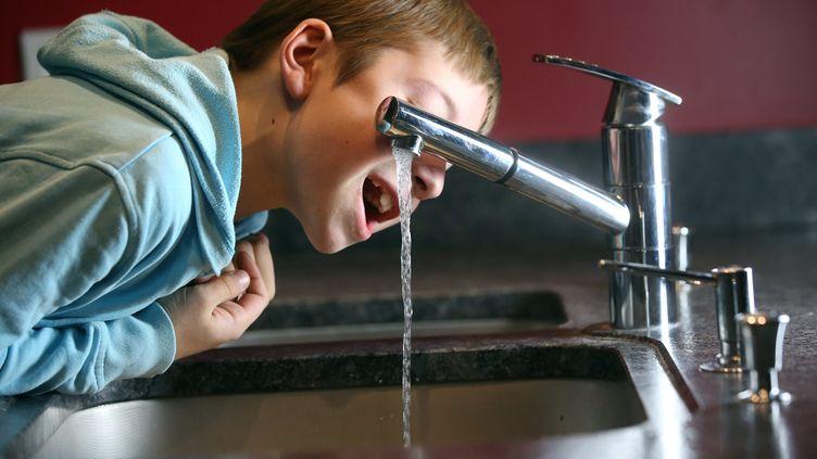 Eau du robinet - Illustration (LIONEL VADAM  / MAXPPP)