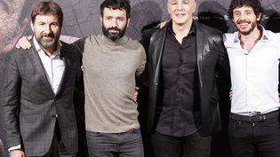 Antonio de la Torre,Roberto Alamo,Javier Pereira, les acteurs du film etRodrigo Sorogoyen le réalisateur. (V?CTOR LERENA / EFE)