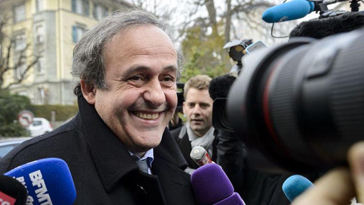 Le dirigeant tricolore Michel Platini