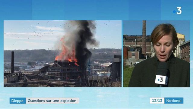 Dieppe : questions sur l'explosion dans une usine