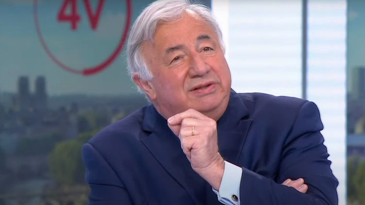 Gérard Larcher, le 9 juin 2021. (FRANCE 2)