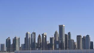Doha, la capite du Qatar, le 9 février 2016. (DE WAELE TIM / AFP)