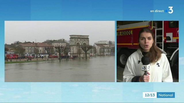 Inondations : le pic de crue est imminent à Saintes