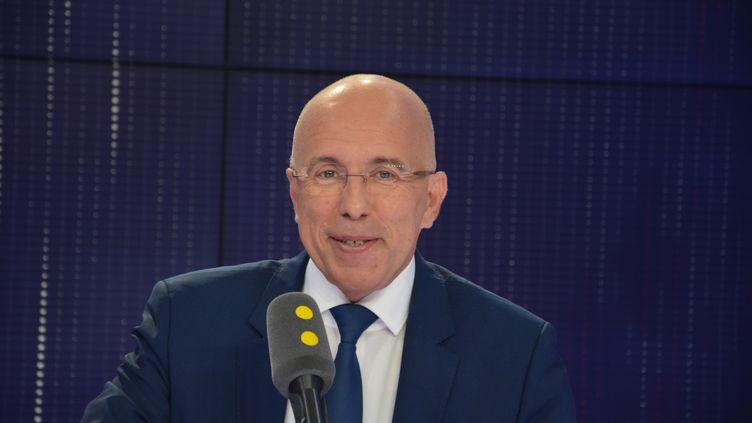 Eric Ciotti, député LR, conseiller départemental des Alpes-Maritimes. (JEAN-CHRISTOPHE BOURDILLAT / RADIO FRANCE)