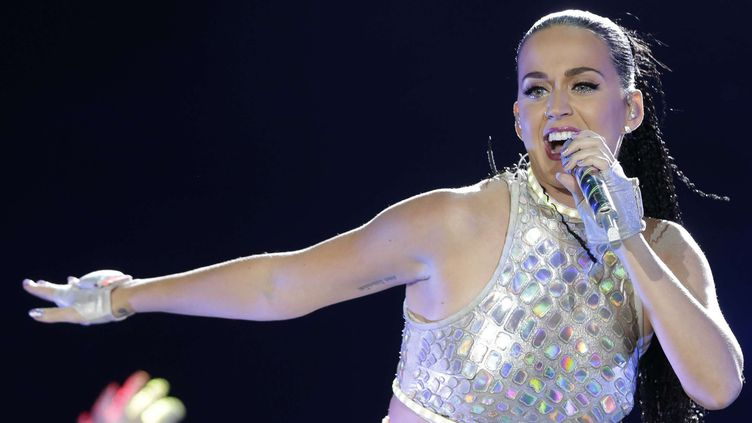 Katy Perry au festival Rock in Rio en septembre 2015.  (Felipe Dana/AP/SIPA)