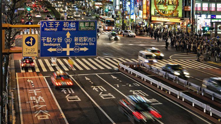 La circulation automobile à Tokyo (ZYLBERYNG DIDIER / HEMIS.FR)
