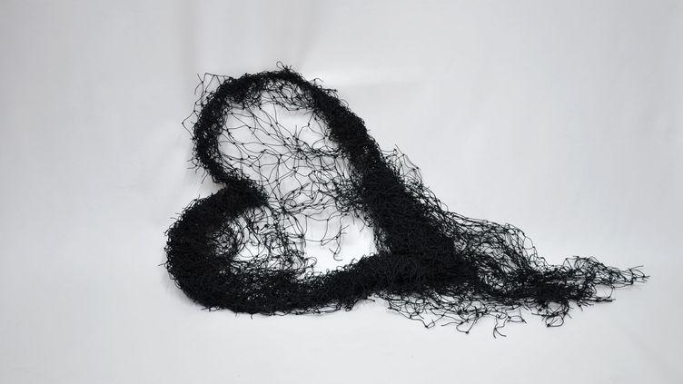 """Annette Messager, """"Cœur au repos"""", 2009, collection Antoine de Galbert, Paris (© Cloé Beaugrand © Adagp, Paris, 2020)"""