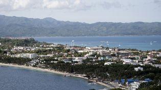 L'île de Boracay, aux Philippines, le 26 avril 2018, jour de sa fermeture aux touristes. (NOEL CELIS / AFP)