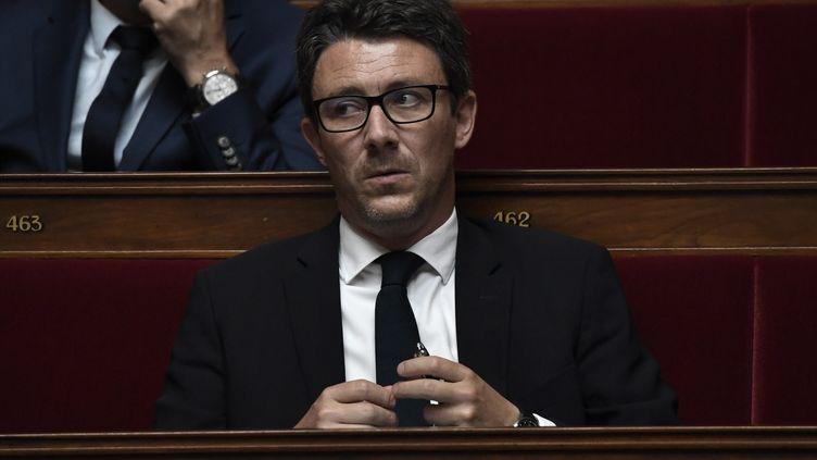 Benjamin Griveaux, député de la 5e circonscription de Paris, à l'Assemblée nationale, le 16 juin 2020. (STEPHANE DE SAKUTIN / AFP)