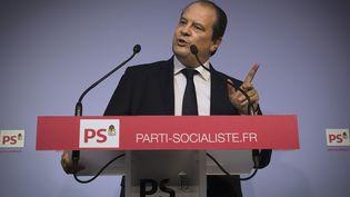 Le Premier secrétaire du Parti socialiste, Jean-Christophe Cambadélis, le 24 février 2015, à Paris. (JOEL SAGET / AFP)