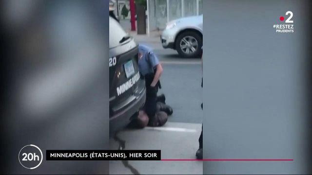 États-Unis : quatre policiers licenciés après la mort d'un homme noir