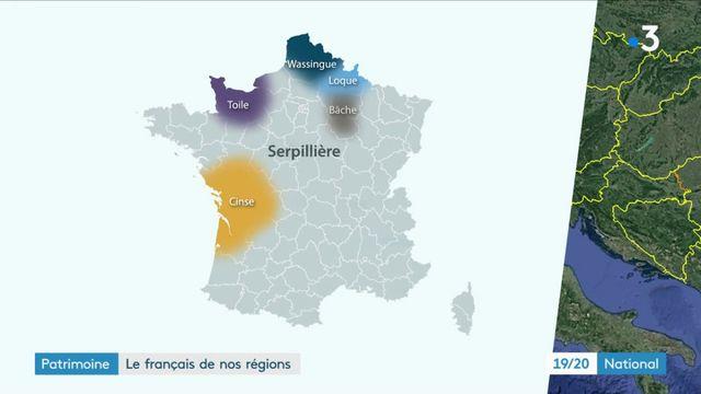 Patrimoine : le français de nos régions