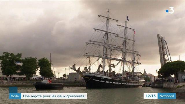 Charente-Maritime : une régate pour les vieux gréements