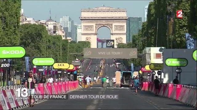 Tour de France : dernière étape sous haute sécurité