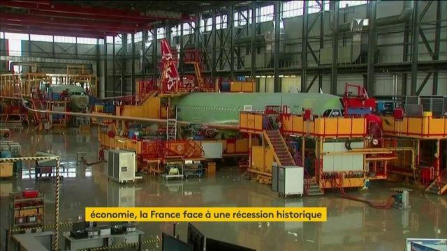 Coronavirus : la France face à une récession historique