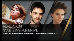 Pauline Haas (harpe), Adam Laloum (piano), Thomas Leleu (tuba), trois révélations instrumentales  (DR)