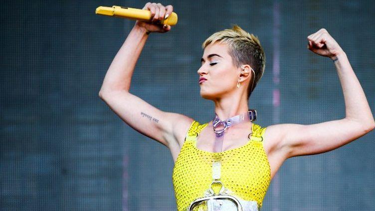 Katy Perry au KIIS FM's 2017 Wango Tango de Carson, Californie (13 mai 2017)  (RICH FURY / GETTY IMAGES NORTH AMERICA / AFP)