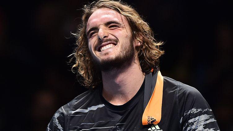 Stefanos Tsitsipas, actuel 6e joueur mondial au classement ATP. (GLYN KIRK / AFP)