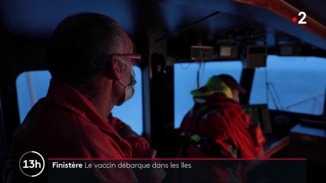 Covid-19 : dans les coulisses de la livraison de vaccins dans une île finistérienne