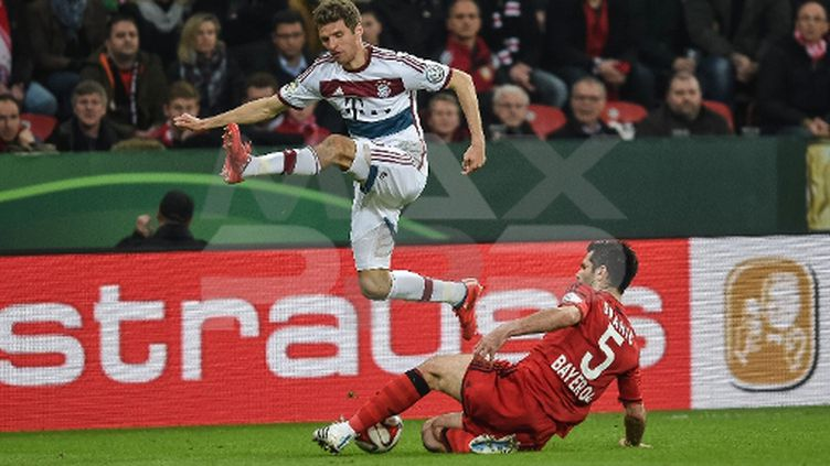 Emir Spahic, lors du fameux match face au Bayern