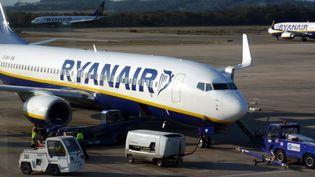 Un avion de la compagnie Ryanair. (MAXPPP)