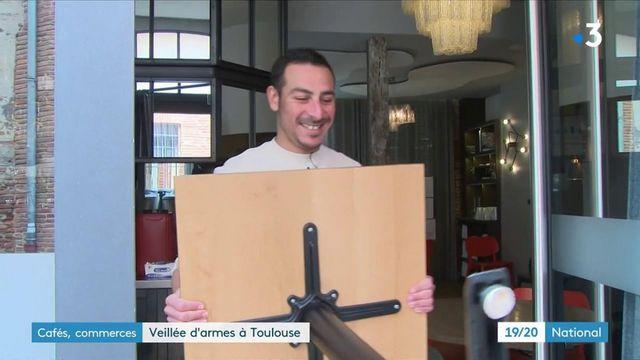 Toulouse : pour les commerces, ultimes préparations avant la réouverture