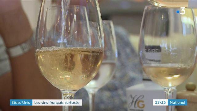 États-Unis : les vins français surtaxés à partir de vendredi