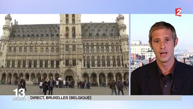 Bruxelles : les autorités restent discrètes sur le profil des deux hommes