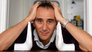 Elie Semoun, le 18 septembre 2013, chez lui, à Paris. (  MAXPPP)